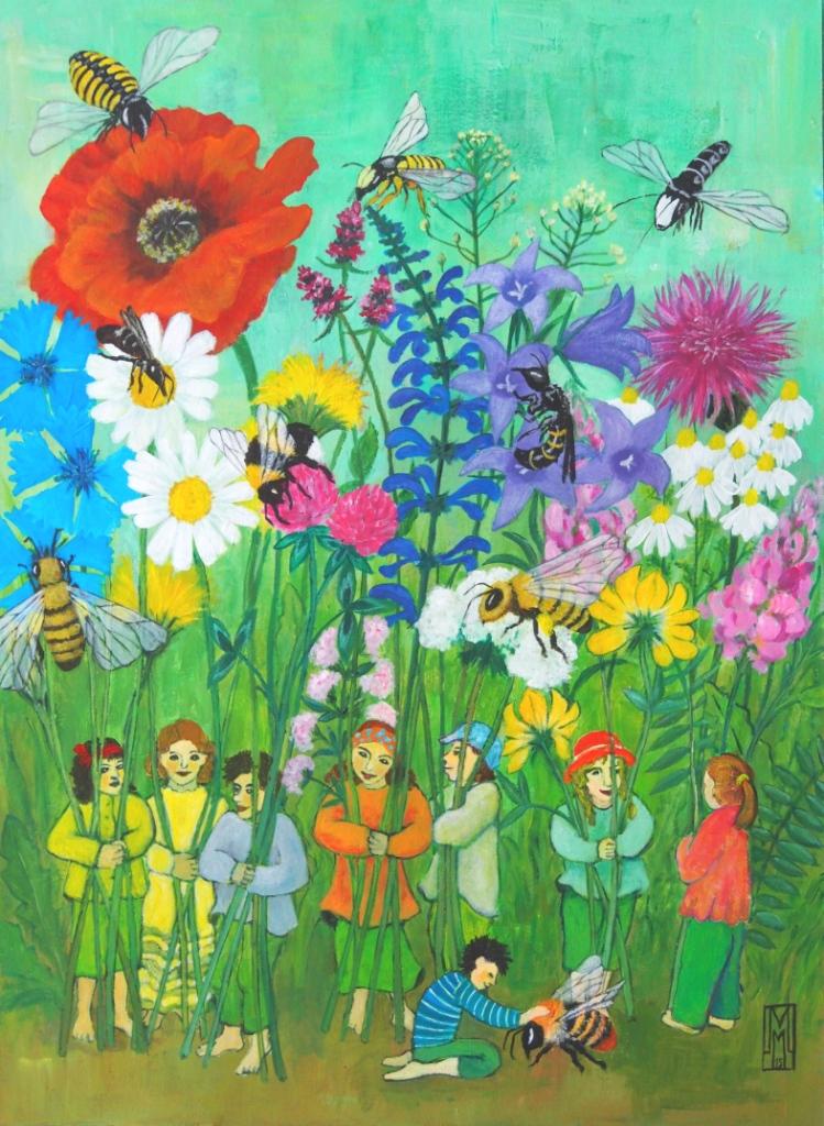 Wildblumenmischung Bienenschmaus