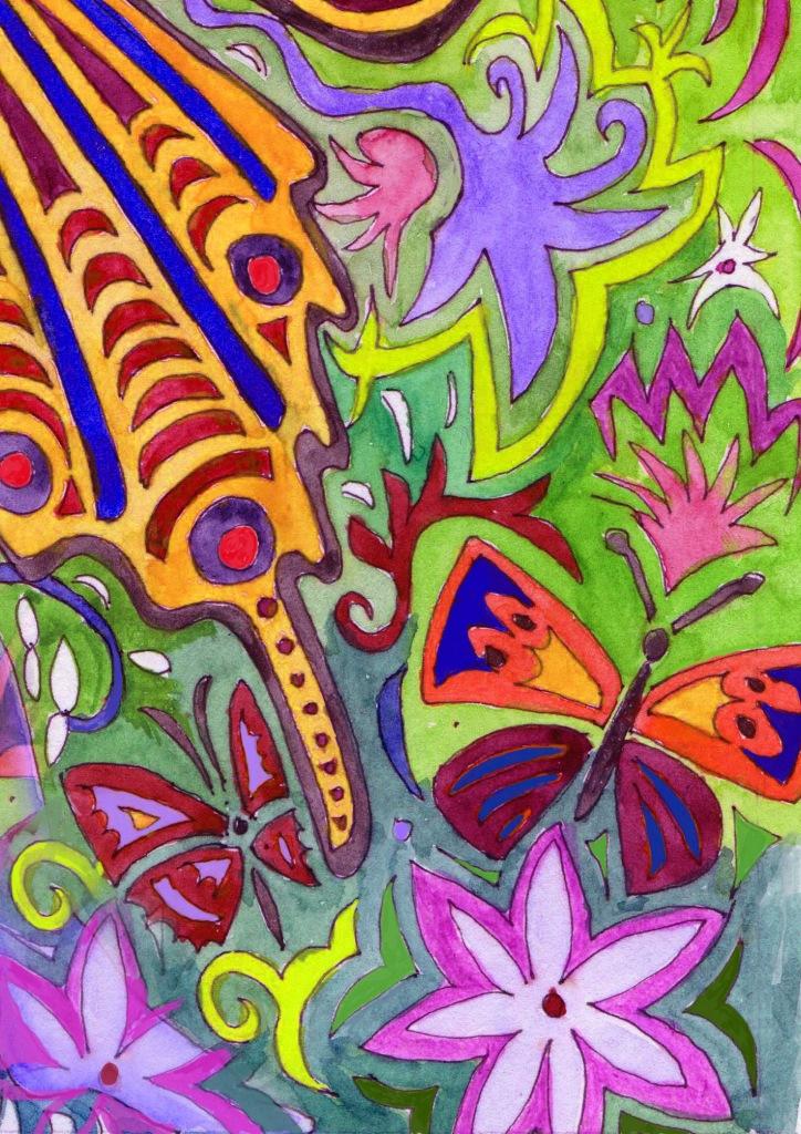 Wildblumenmischung Nachtfalter