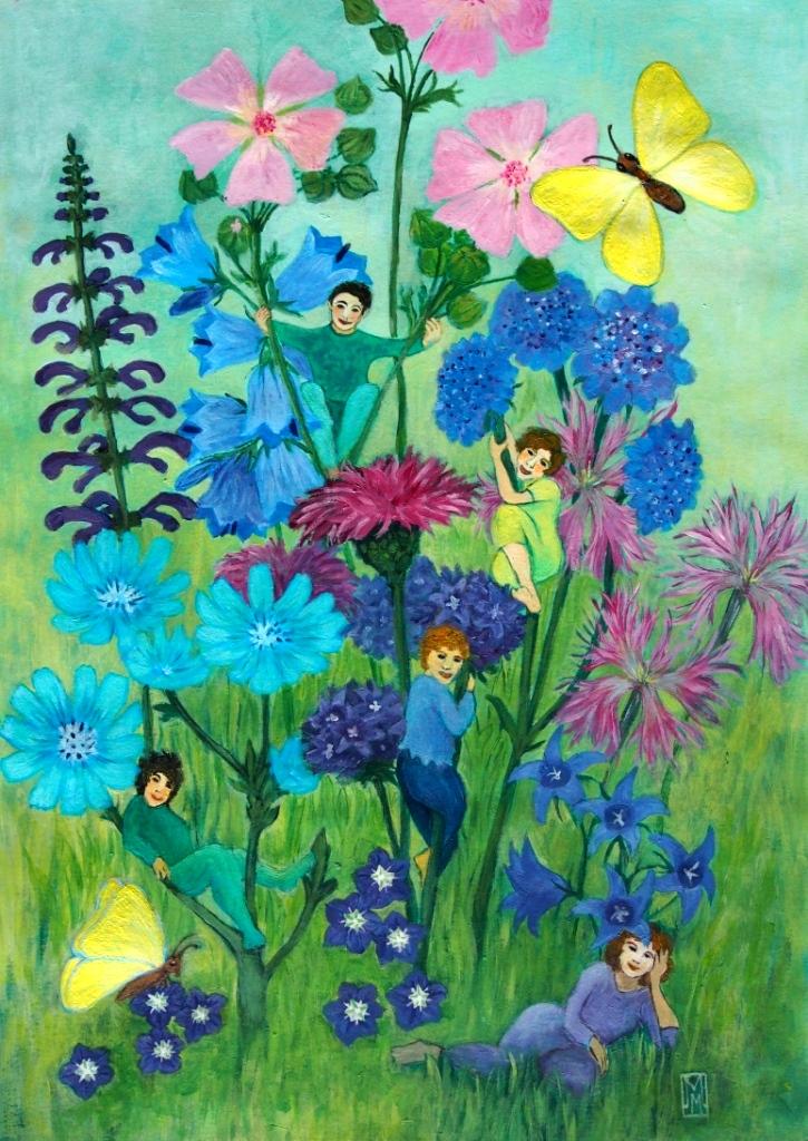Wildblumenmischung Blaue Wiese