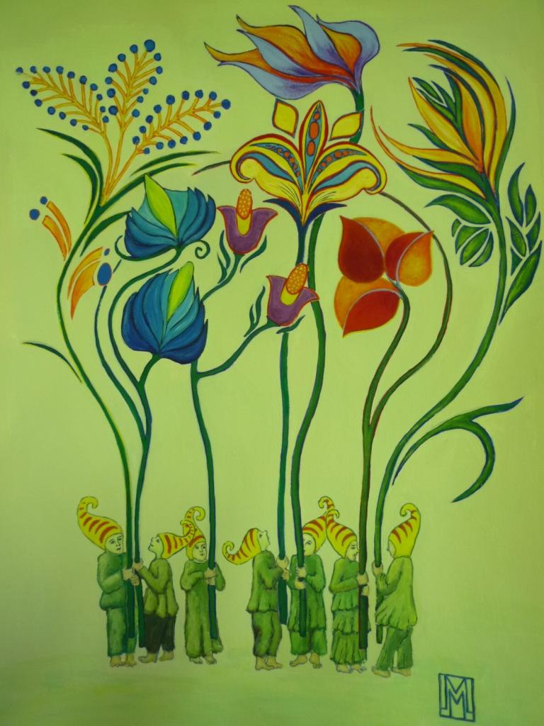 Wildblumenmischung halbschattig